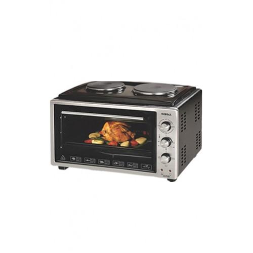 Нова Готварска печка с два електрически котлона NURGAZ NG 7504