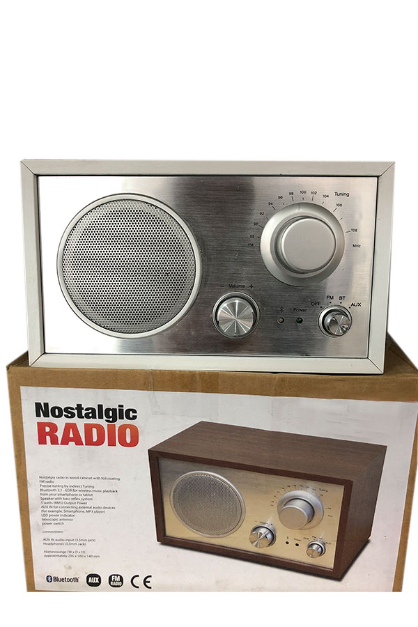 Ново FM Радио с Bluetooth Nostalgic Radio.